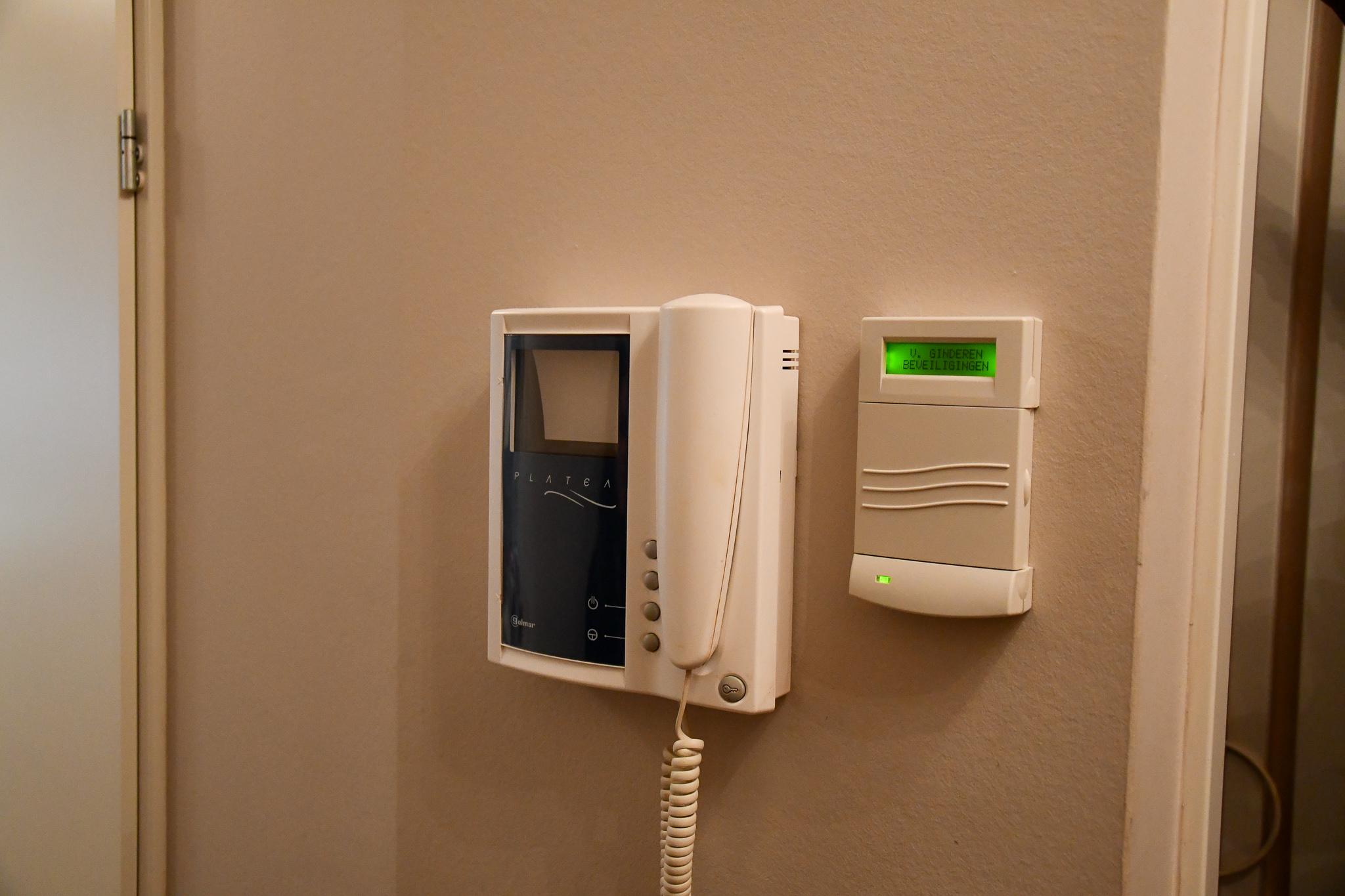 telefonische beveiliging van ginderen